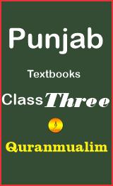 Class 3 Punjab Textbooks free PDF eBooks download, 3 grade, 3rd grade math, grade 3, maths for class 3, for 3rd class, class 3, class three books pdf, download punjab text books, Quranmualim