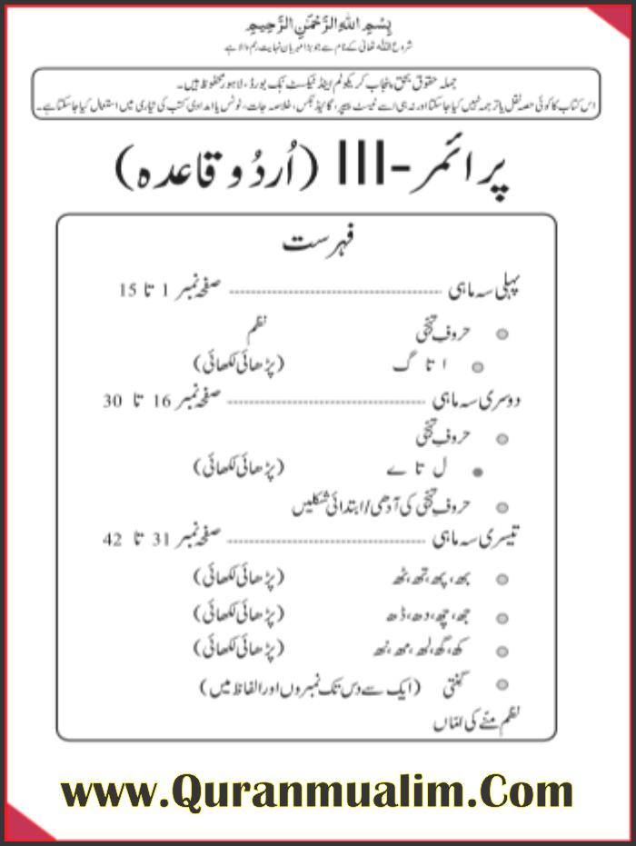 Class Nursery Punjab Textbooks free PDF eBooks download, class nursery, download e books, free ebooks pdf, , taleemi calendar, prep class,,Quranmualim