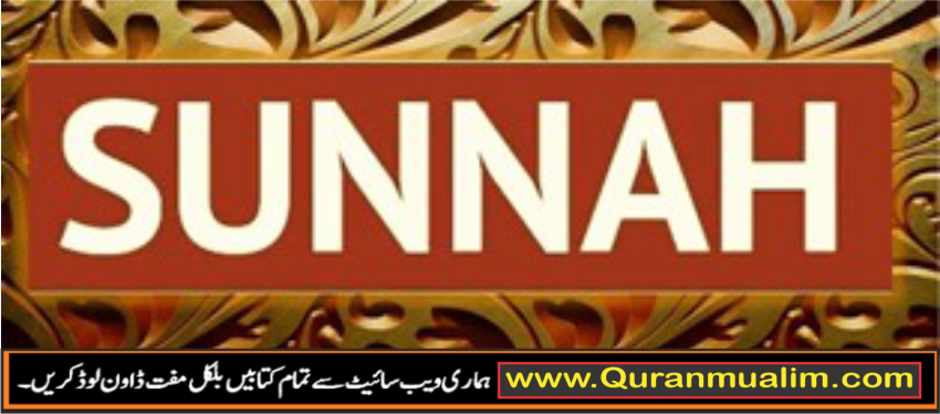 What is the Definition of Sunnah and importance of Sunnah ? sunnah definition in urdu , importance of sunnah of sunnah in islam,