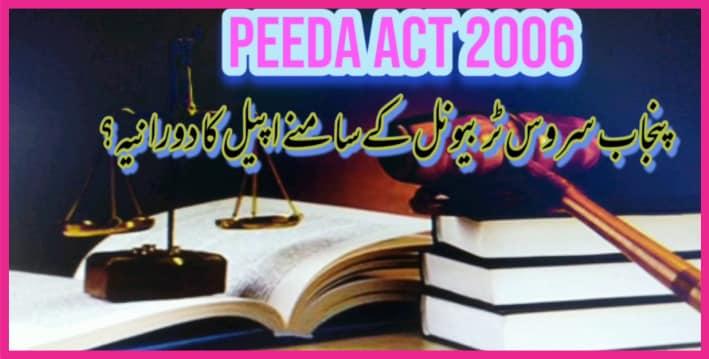 Peeda act 2006 in Urdu PDF free Download, peeda act 2006 pdf, 5 minute major, civil servant, civil service meaning, , tribunal service,