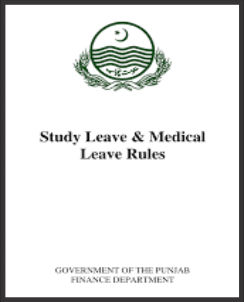 School Education Department Punjab | Rules for Teacher , rules for school teachers, acr, ex Pakistan leave rules
