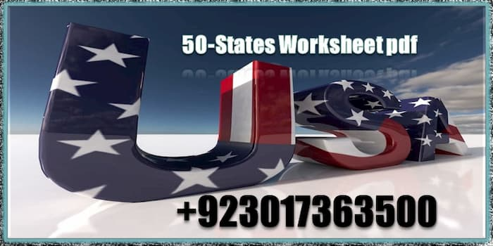 50 States Worksheets PDF | USA Super Teacher Worksheets, USA worksheet, united states printable map, US Geography worksheets, 50 states and capitals quiz