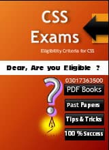 Central Superior Services of Pakistan | CSS Books PDF , CSS exams subjects, CSS past papers, CSS groups subjects, CSS optional subjects, CSS abbreviation