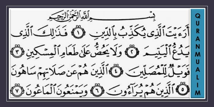 English in quran surahs Tafheem ul