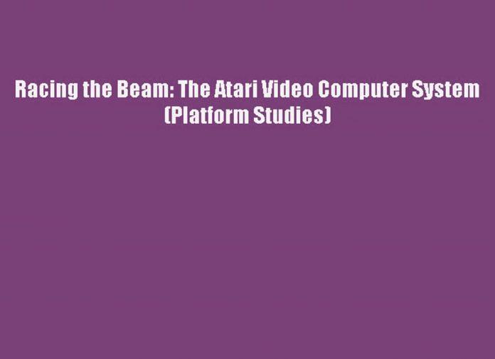 the beam book, atari computer system, computer race, i beam computer, media beam, raced, video computer system by atari, the beam book, atari 2600 video computer system, atari vcs gameplay, book racing, first atari system